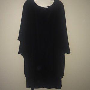 Dressbarn Black Dress SZ 3X